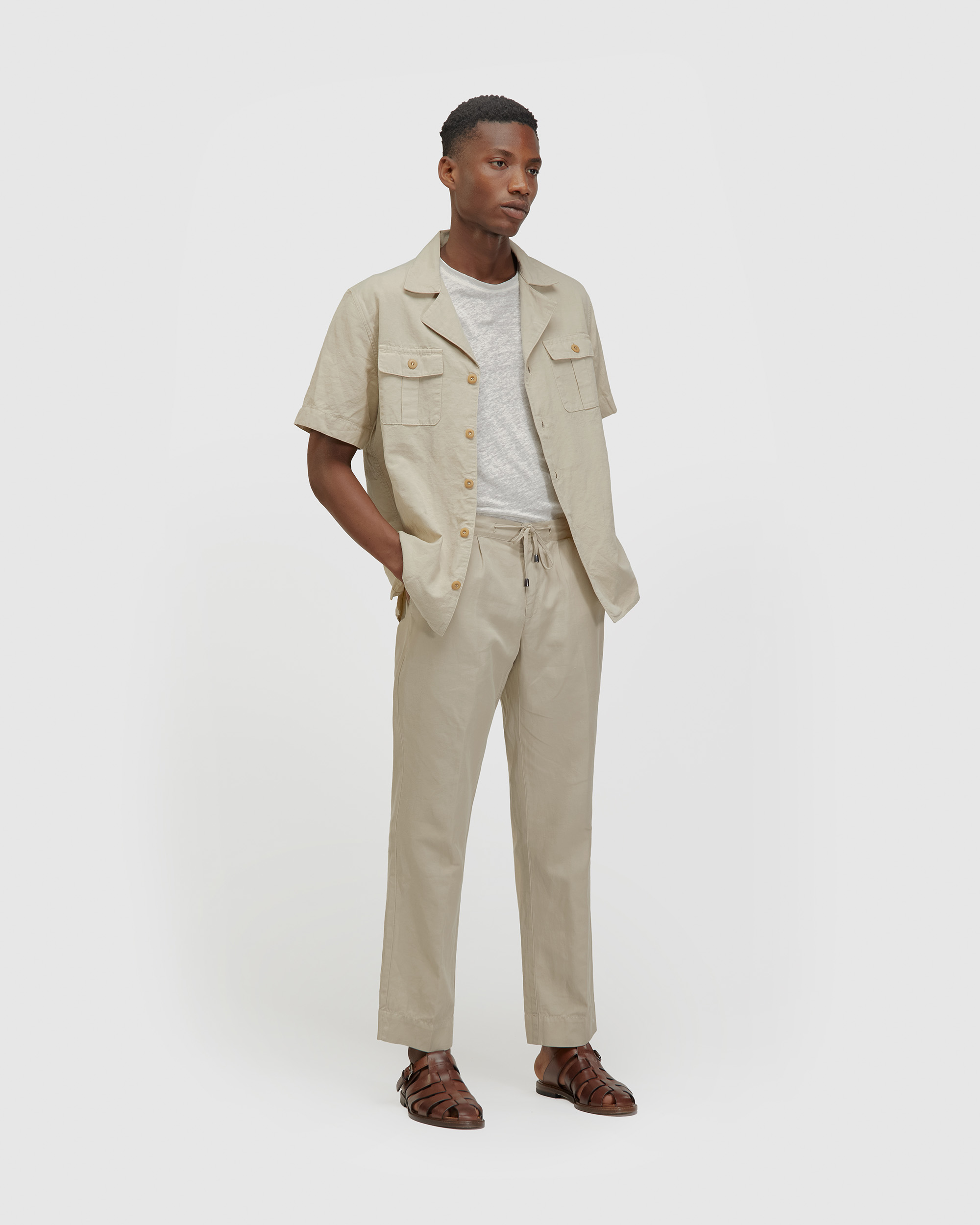 The Track Pants Sand